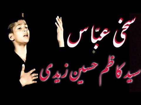 kazim zaidi noha sakhi abbas tu kitna naseeb wala hai 2014