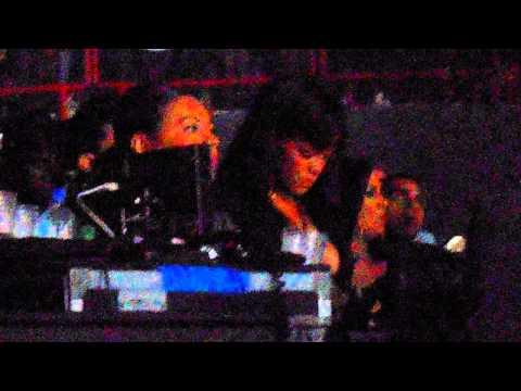 concert Drake PARIS BERCY avec Rihanna (instagram: Nathouu10)