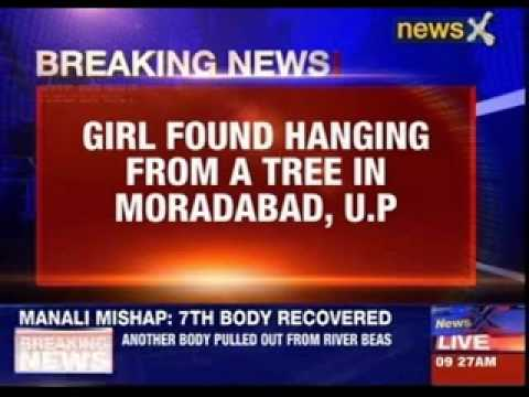 Girl found hanging from a tree in Moradabad, Uttar Pradesh