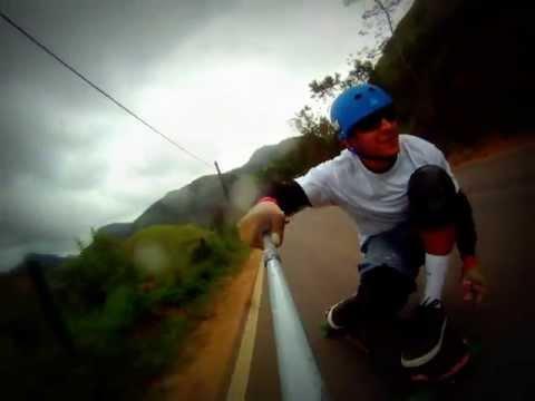 Formate Hills - Raw Run Eduardo Teixeira - SKATE DOWNHILL SPEED ES - Queda tensa de João Bosco
