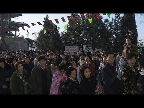 North Koreans vote in rubber-stamp elections - no comment
