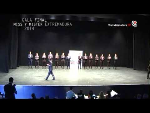 6/11 Gala final Miss World Extremadura 2014