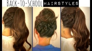 ★ CUTE BACK-TO-SCHOOL HAIRSTYLES BRAIDED PONYTAIL