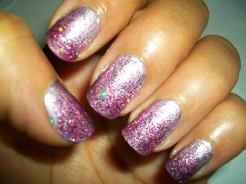 pink princess easy nail design tutorial nails of promise