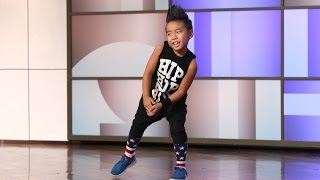 Astounding Kid Dancer Aidan Xiong