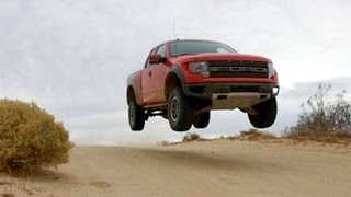 Ford F-150 Raptor On Land, Through Water, In The Air