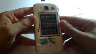 Samsung Galaxy NOTE 3, S4 /S3- How To Insert Sim Card And
