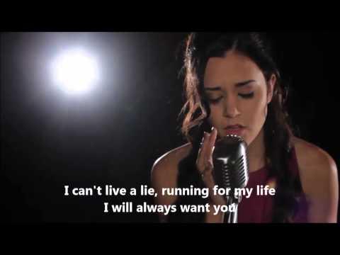 Wrecking Ball - Miley Cyrus (cover) Megan Nicole lyrics