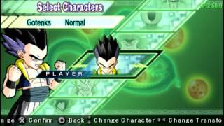 Dragon Ball Z Shin Budokai 2 En PPSSPP (Emulador De PSP