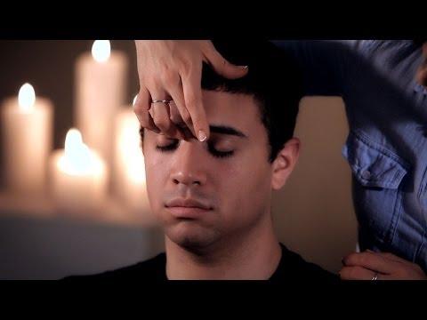 Self-Massage to Relieve Sinus Pressure   Head Massage