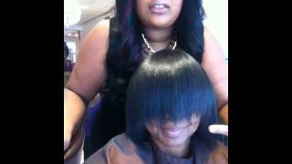 How To Trim Split Ends. Toria Mane Part 2- December 23