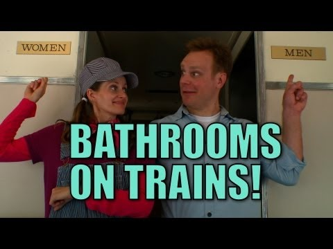 Bathrooms on Trains! - Choo Choo Bob Show