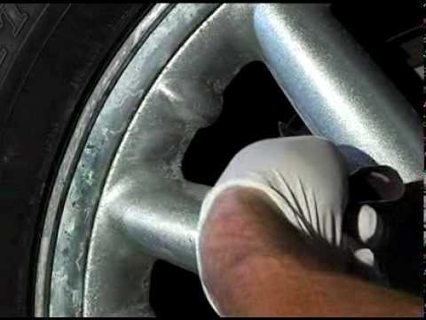 Reparador de aros rines contra rayones y corrosion youtube - Pulir llantas de aluminio a espejo ...