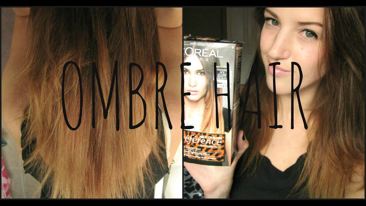 L'Oreal Ombre Before and After