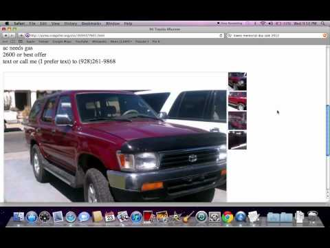 Craigslist Arizona Used Cars for Sale by Owner