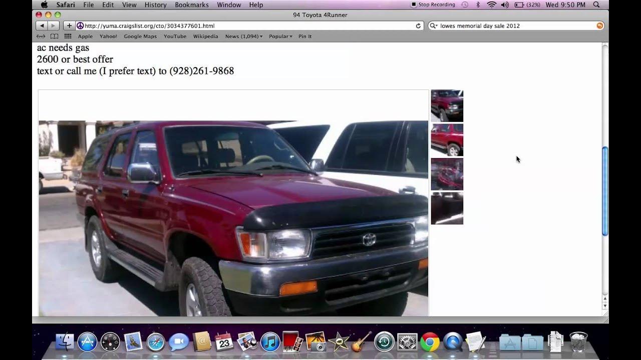 Craigslist Yuma Used Cars And Trucks Chevy Silverado