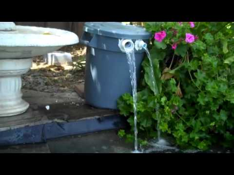 Home made pond filter youtube for Koi pond filter diy
