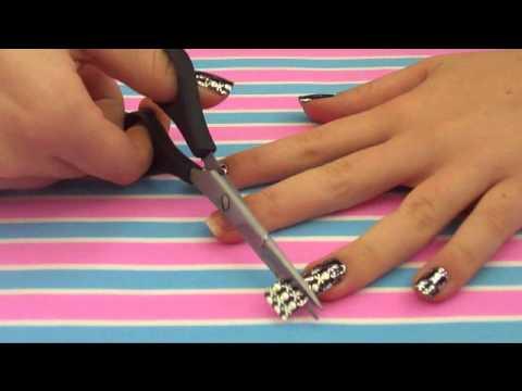 Nail art - decoração de unhas - carimbo, adesivo, caneta
