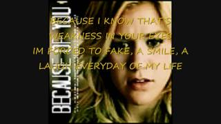 Because Of You Lyrics By Kelly Clarkson And Reba McEntire
