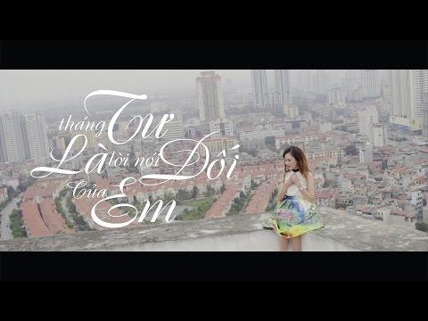 Tháng Tư Là Lời Nói Dối Của Em   Official Cover MV   Huyền Pk   Cô Gái Tháng Tư