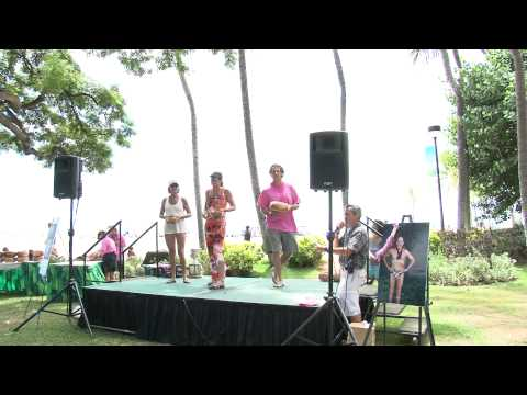 AWARDS FEMALE AGE GROUP  50yrs to 54yrs  2011 Waikiki Rough Water Swim
