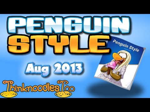 Club Penguin: August 2013 Clothing Catalog Cheats, Subscribe to my Channel: ✦✦✦ http://bit.ly/NoodleOnToo ✦✦✦ Club Penguin: July Catalog 2013 Cheats for the Penguin Style Clothing Catalog. Visit us: http://ww...