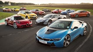 Vrijeme da se izabere najbolji sportski automobil 2014.
