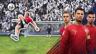Bale Overhead Kick Challenge | Ronaldo's Road To The World Cup - EP. 5
