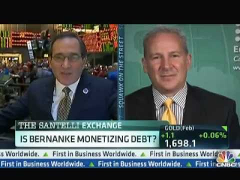 Peter Schiff: Fed Will Keep Printing Money Until Economy Collapses - CNBC 12/17/2012