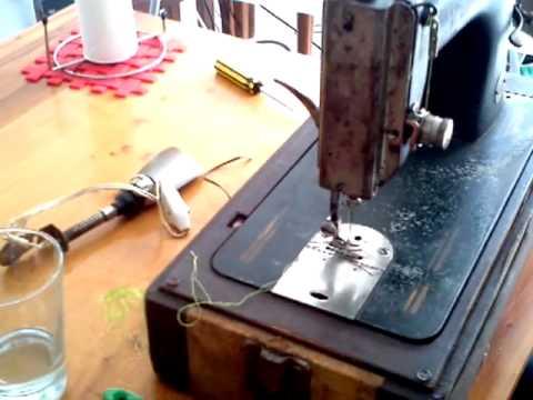 Maquina de coser! curso in home