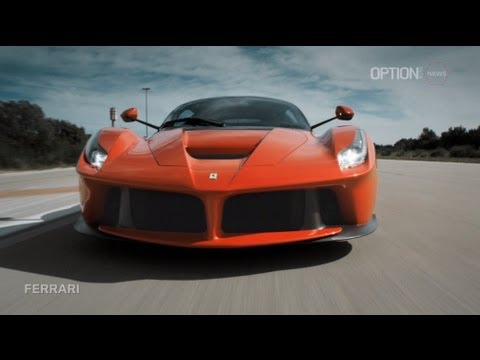 The LaFerrari OFFICIAL Teaser [HD] (Option Auto News)