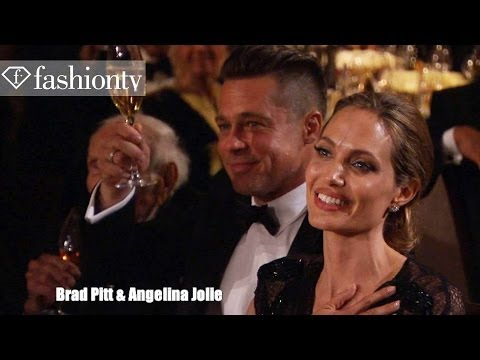 Angelina Jolie and Brad Pitt at the 5th Annual Governors Awards 2013 in Hollywood | FashionTV