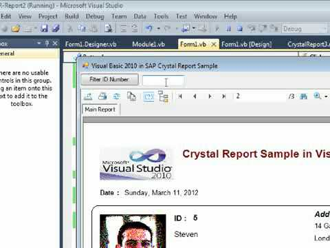 Call Crystal Report in Visual Basic 2010 with Record Selection Formula