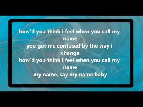 Cheryl Cole Call My Name Lyrics 2012 HQ
