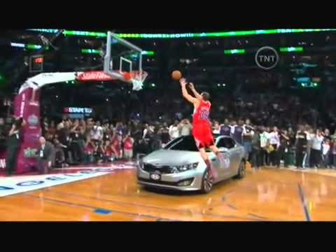Blake Griffin Slam Dunk Contest Champ 2011 | Dunk Over Car