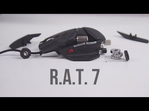 Die beste Gaming Maus? - R.A.T. 7 Review deutsch - Ilias B