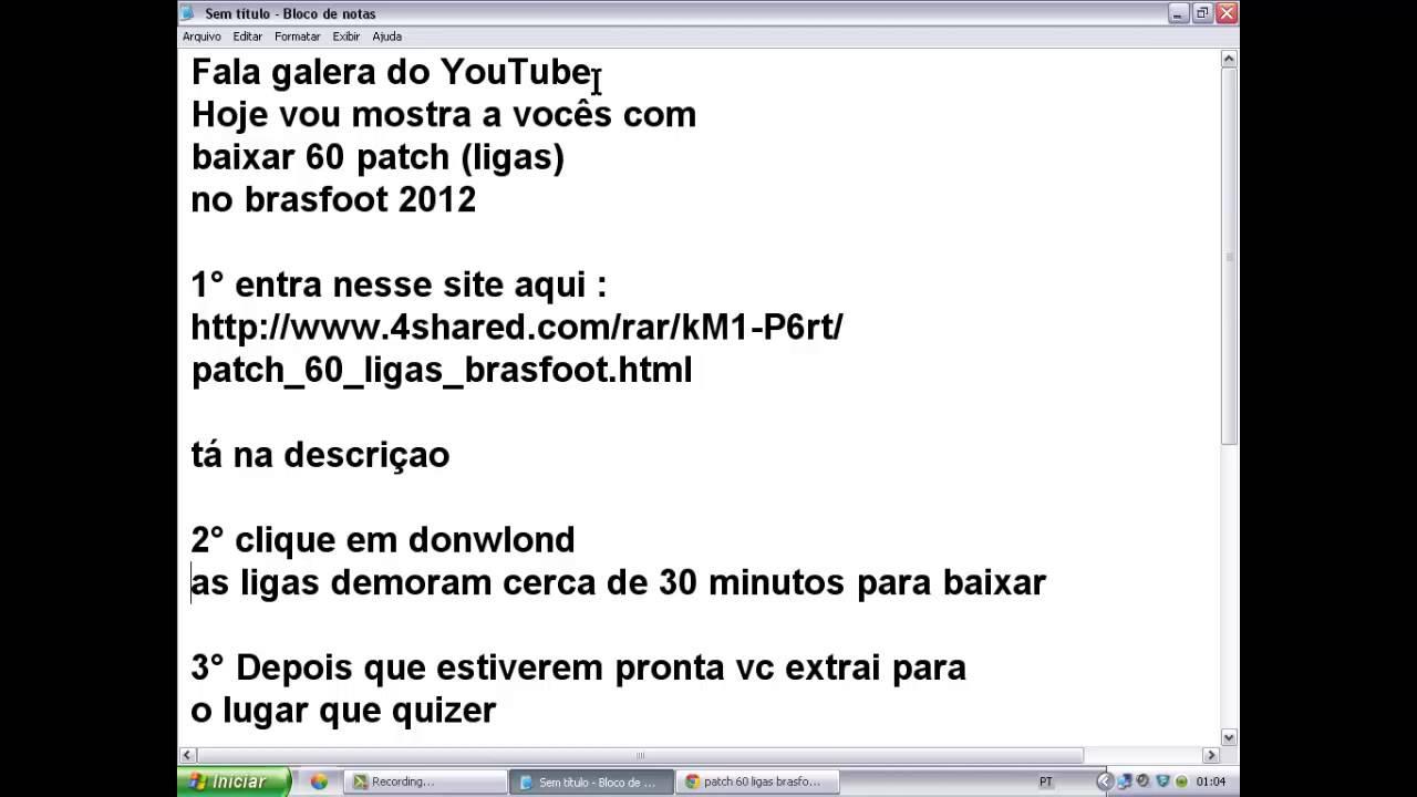 brasfoot 2012 download com todas as ligas