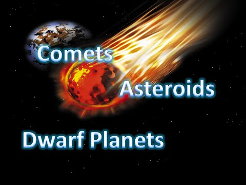 The Solar System: Dwarf Planets, Asteroids, and Comets!