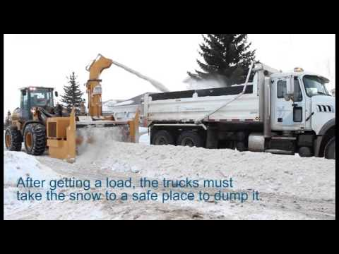 Why does removing snow take a long time?