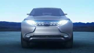 คลิป Mitsubishi Concept GR-HEV Model All New