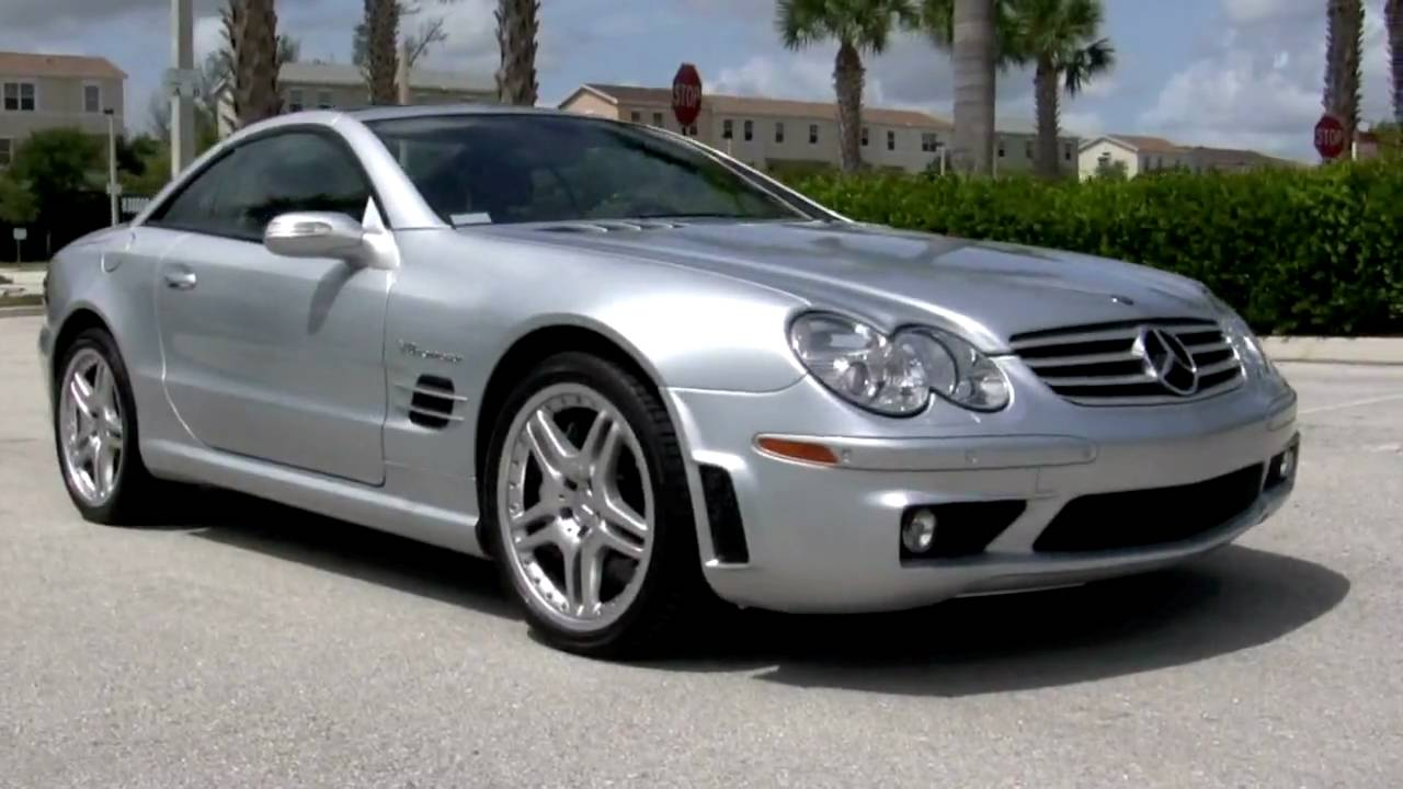 2006 mercedes benz sl55 amg silver a2342 youtube for Mercedes benz sl55 amg