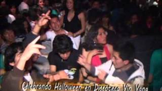 HALLOWEEN EN DISCOTECA YIN YANG PILCOMAYO HUANCAYO PONE