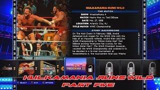 WWE 2K14 30 Years Of WrestleMania Hulkmania Runs Wild