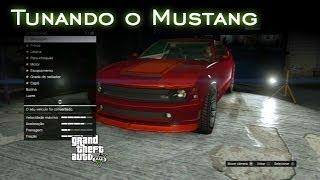 Tunando O Mustang GTA V [PT-BR]