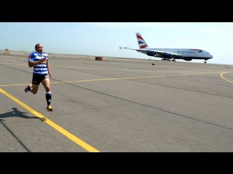 British Airways - Man vs Plane