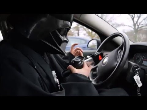 Downtown Darth Vader