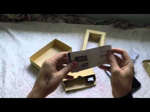 Abrindo Tablet Samsung Galaxy TAB 3 T2100 - Unboxing