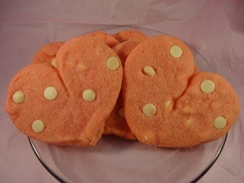 Cherry Jello White Chocolate Pudding Cookies