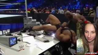WWE Smackdown 5/2/14 Titus ONeil Vs Big E Langston Live