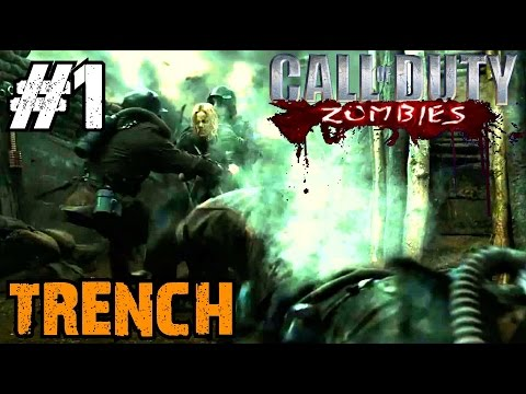 Zombie Trench Ep.1 - Call of Duty Custom Zombies (CoD Zombies) - World at War [PC HD]